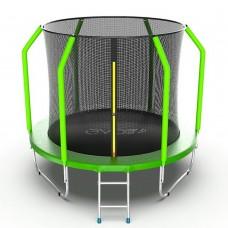 Батут EVO JUMP Cosmo 8ft (Green) с лестницей