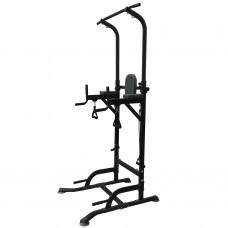 ROYAL Fitness Арт. HB-DG006 Силовая стойка для подтягиваний с эспандерами