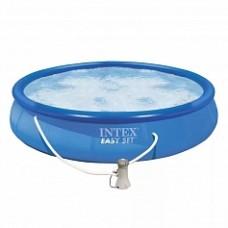 Большой, надувной, летний бассейн Easy Set 28158