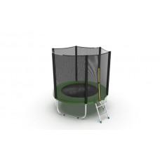 Батут EVO JUMP External 6ft (Green) с лестницей