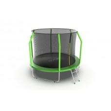 Батут EVO JUMP Cosmo 10ft (Green) с лестницей