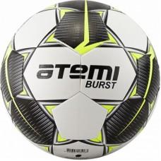 Мяч футбольный АТЕМИ BURST р. 5,белый/черн/желтый