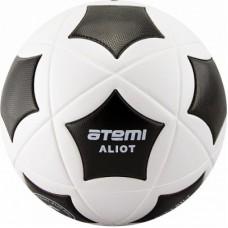 Мяч футбольный Atemi ALIOT PVC бел/чёрн., р.5 , 420 г.