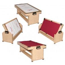Игровой стол - трансформер (пул + аэрохоккей) ''Twister''