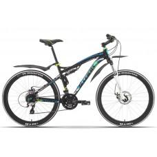 Велосипед двухподвесный Stinger Disc