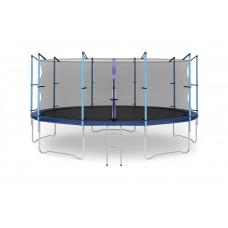 DIAMOND FITNESS Internal 16ft (488 см) Батут с защитной сеткой и лестницей