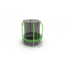 Батут EVO JUMP Cosmo 6ft (Green) с лестницей