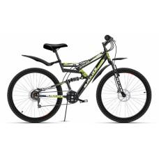Велосипед двухподвесный Black one Hooligan FS Disc